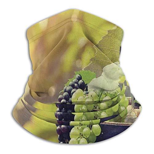 Not applicable Nicht zutreffend Landwirtschaft, Naturlandschaft, Produkt für Getränke, Obst, Skimaske bei kaltem Wetter Gesichtsmaske Nackenwärmer Fleece Kapuze Wintermütze