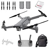 FIMI X8SE 2020 Quadcopter Drone Kit 8km Range 4K Camera UHD 100Mbp HDR Video FlyCam Quadcopter UAV GPS Tracking Smart Remote Controller, W Signal Booster & Dual Batteries, Gray