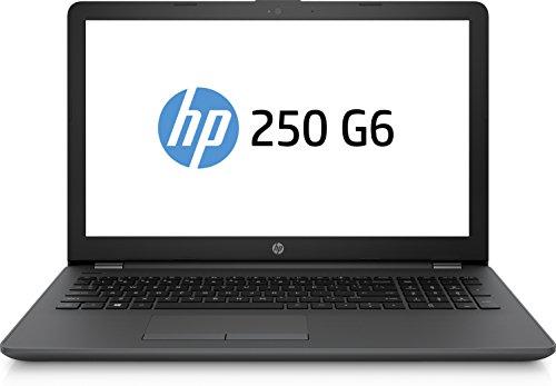 HP 250 G6 Business PC Notebook, Processore Intel Celeron N3060, Memoria Interna da 4 GB DDR4, HDD SATA da 500 GB, Scheda Grafica Integrata, Windows 10 Home, Grigio