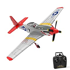 ✈ INTEGRATED GYRO EASY TO CONTROL: 6-axis gyro ultra stable self stabilization of gyro system. Powerful over-grade motor system allows easy controlling to do aerobatic flying. ✈ BEGINNERS' FIRST RC AIRPLANE TRAINER: 3-level flight control assists (Be...