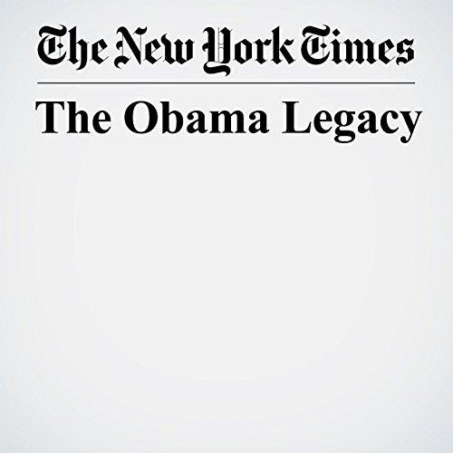 The Obama Legacy copertina