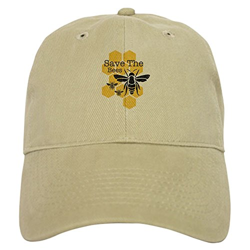 Save The Bees Baseball Cap with Adjustable Closure,