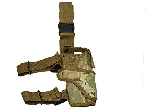 Paintstar, Pistolera tecnica para pierna Kombat, Diseño militar 4080-N