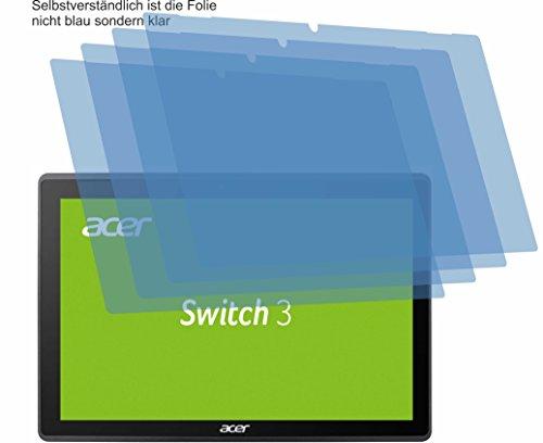 4ProTec I 4X ANTIREFLEX matt Schutzfolie für Acer Switch 3 SW312-31 Bildschirmschutzfolie Displayschutzfolie Schutzhülle Bildschirmschutz Bildschirmfolie Folie