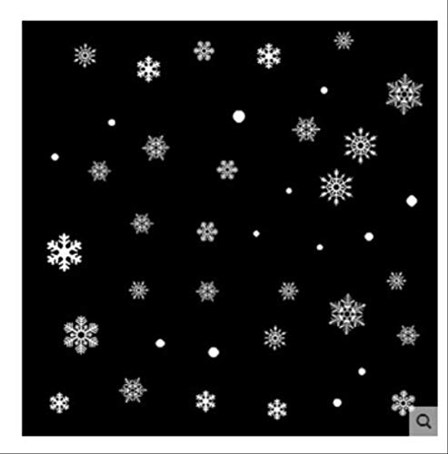 Wandaufkleber Weihnachten Glasaufkleber Shop Dekoration Shop Klassenzimmer Schlafzimmer Tür Fenster Schneeflockenmalerei