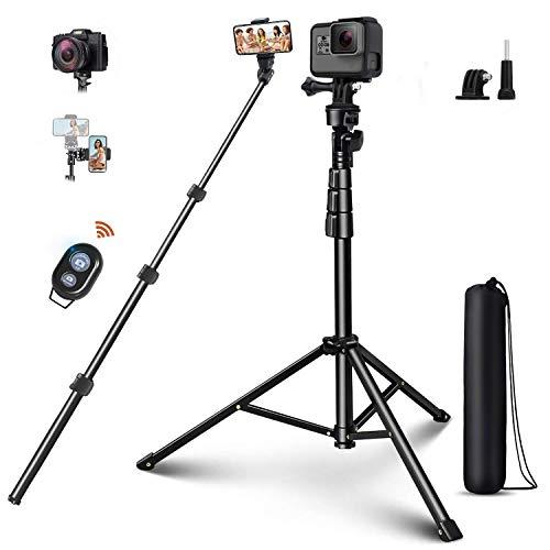 ELEGIANT Bluetooth Selfie Stick 4 in 1 Handy Stativ Wireless Selfie-Stange Stab mit 140cm Stativ Fernbedienung 1/4 Schraube 360°Rotation Selfie-Stange für Action-Kamera Gopro iPhone Samsung Huawei usw