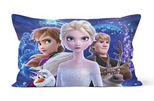 Federa per cuscino Frozen regalo di 50 x 75 cm, morbida e confortevole.