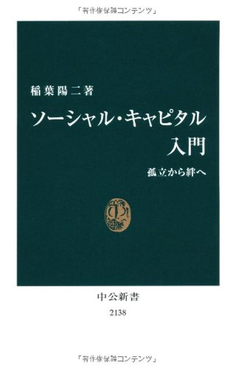 裁判官発行役割ソーシャル?キャピタル入門 - 孤立から絆へ (中公新書)