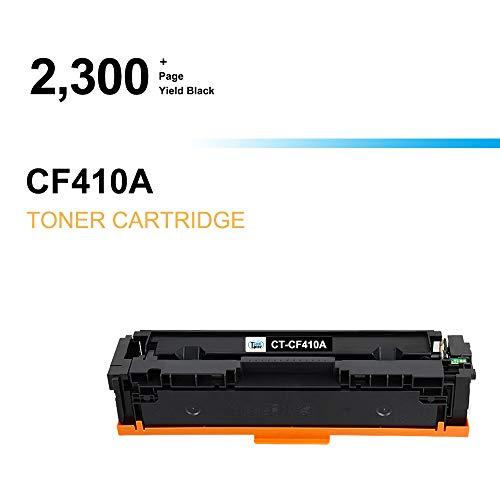 Cool Toner Compatible Toner Cartridge Replacement for HP 410A CF410A Black Toner for HP Color Laserjet Pro MFP M477fnw M477fdw M477fdn M477 Pro M452dn M452nw M452dw M452 M377DW Printer Toner-1 Pack Photo #3