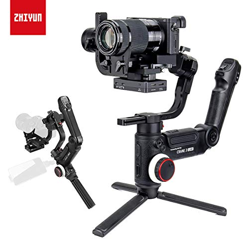 Zhiyun Crane 3 LAB Gimbal, 2019 Flagship 3-Axis Stabilizer for DSLR Camera up to 10 lbs, with Wireless Image Transmission and ViaTouch Zoom/Focus Control, i.e. Sony A7 Canon 1DX
