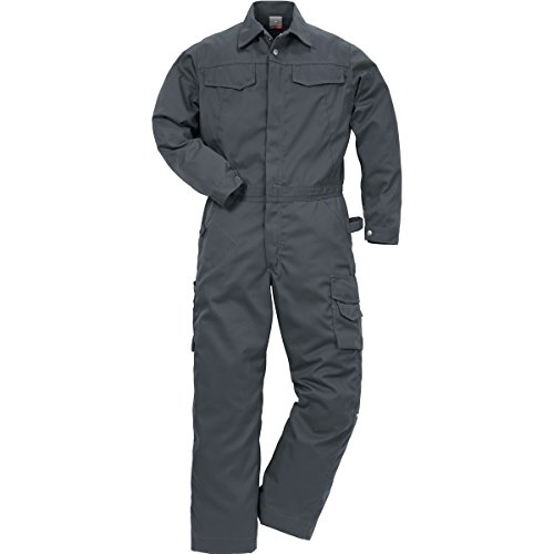 Fristads Overall Luxe DONKERGRIJS MT M