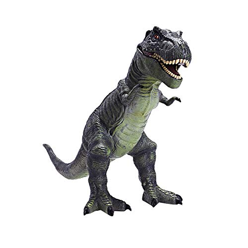 RECUR Large Tyrannosaurus Rex Dinosaur Toy Big Size 22.8inch T-Rex Figures Safe Odorless for Toddler Boy Plastic Model, Colossal Collectibles Creative Gifts for All Years Old Boys Toys (Dark Green)