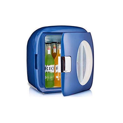 NAFE Mini réfrigérateur de 9 litres et réfrigérateur de Table Plus Chaud   Réfrigérateur thermoélectrique pour Aliments et Boissons idéal pour Les Bureaux-Blue