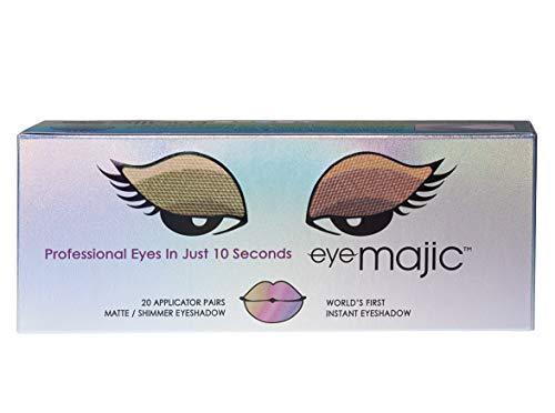 Eye Majic - Instant-Lidschatten - leichtes, professionelles Make-up in 10 Sekunden - 4 verschiedene Farbkompositionen - 20 Paar - Illuminate