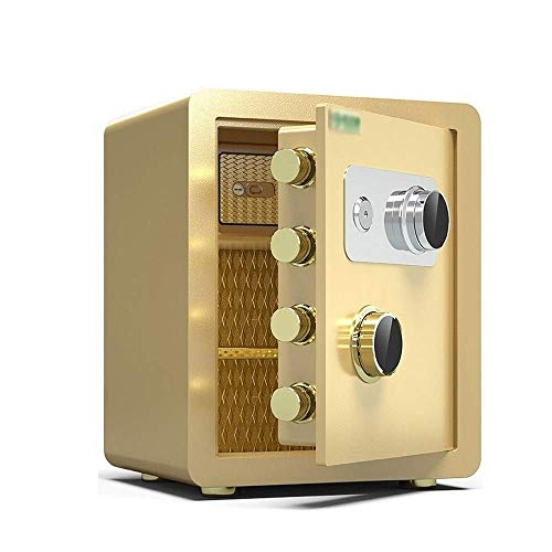 DXYSS Caja Fuerte de Casa Seguro del hogar Invisible de Pared mecánico Completamente de Acero Segura, contraseña mecánico Caja de Gran Capacidad de Caja/buzón de Documentos for la Oficina en casa