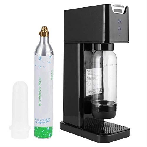 Selbstgemachtes Haus DIY Sprudelwassermaschine Kohlensäure Maschine Kohlensäurehaltige Cola Getränke und Kaffee schwarz