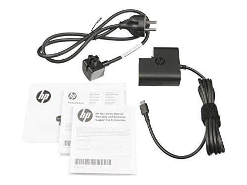 HP Spectre x360 13 ac000 Original USB C Netzteil 45 Watt