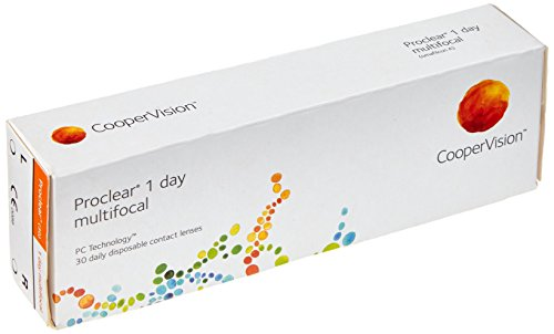 Proclear 1day Multifocal Tageslinsen weich, 30 Stück / BC 8.70 mm / DIA 14.20 / ADD MED / 5.75 Dioptrien