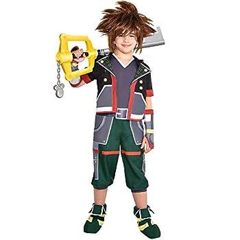 Party City Sora Halloween Costume for Boys Kingdom Hearts Medium Includes Accessories
