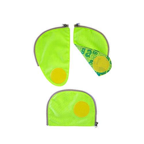 Ergobag Sicherheits-Set, Ergobag Pack, Set 3-teilig, Grün