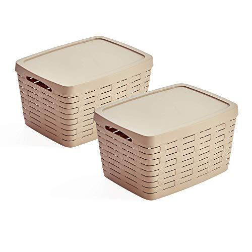 Cestas Almacenaje Baño Con Tapa cestas almacenaje baño  Marca USE FAMILY