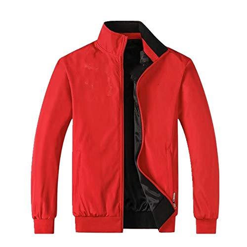 N\P Chaqueta deportiva para hombre de primavera y otoño, de sección delgada, a prueba de viento y transpirable