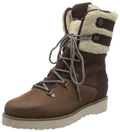 Roxy Damen Brandi Snow Boot, Chocolate, 42 EU