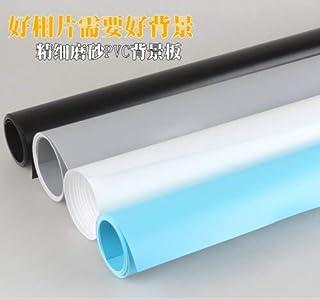 اكسسوارات استوديو الصور - خلفيات الكاميرا 68 × 130 سم ورقة خلفية PVC (سوداء)