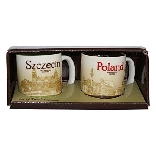Starbucks Mug Szczecin/Poland Set of Tow Demitasse Coffee Kaffee Espresso