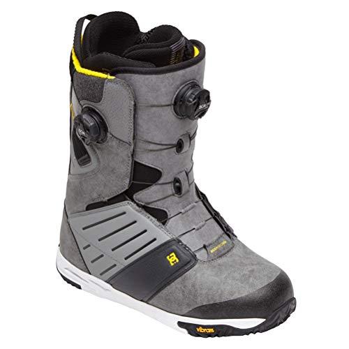 DC Judge Dual BOA Snowboard Boots Frost Grey 11 D (M)