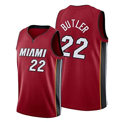 Butler Camisa de basquete masculina, camisa esportiva retrô Miami, colete sem mangas, top esportivo bordado (cor: C, tamanho: P)