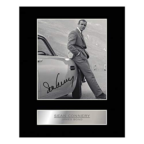 Sean Connery, con autografo James Bond # 1