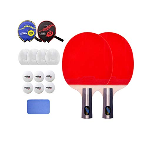 Affordable HUIJUNWENTI Table Tennis Racket, Pen-Hold, Horizontal Shot Authentic Table Tennis Racket,...