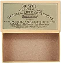 Cheyenne Pioneer Cartridge Box 38-40 WCF Chipboard Package of 5
