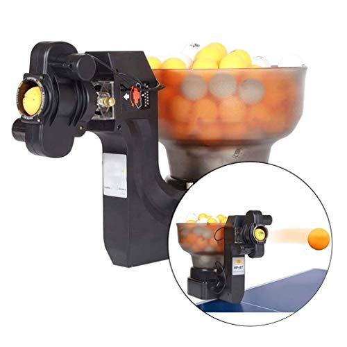 GSS-Rollstühle Tischtennis Trainingsroboter Automatische Tischtennis-Tee-Maschine, Multi-Engel-Spinnbälle Tischtennis-Maschine zum Üben in der Turnhalle der Heimschule