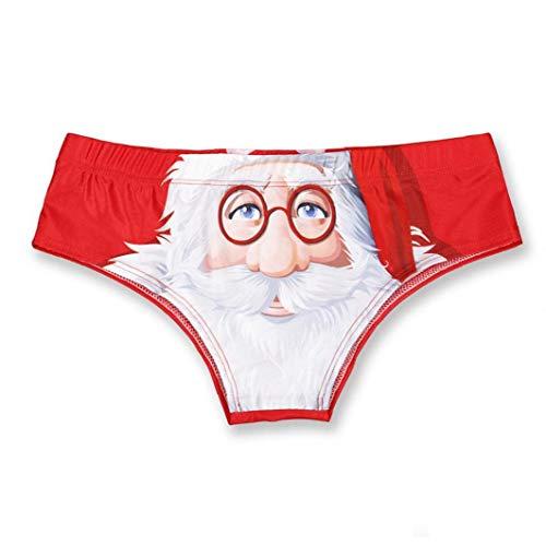 Ropa Interior para Mujer. Braguitas Papá Noel