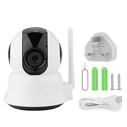 SALUTUYA Cámara Web WiFi 100-240V con Adaptador de Corriente 720P Cámara HD, para Oficina, para vigilancia de Seguridad en(100-240V British Standard)