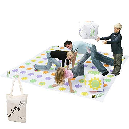 Garden Games 510 - Get Knotted mit großer Kunststoffmatte, 3 x 3 m
