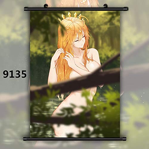 FKnbM Fate Grand Order Saber Lancer Artoria Pendragon Alter Anime Manga Wall Poster Scroll 20x30cm 9135