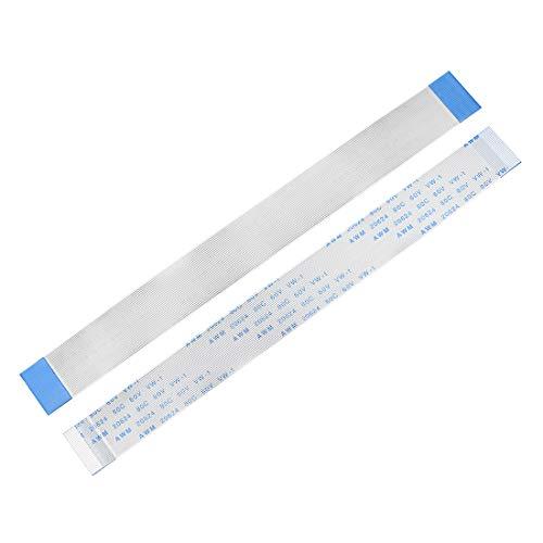 Sourcingmap - Cable flexible plano de 0,5 mm de paso de 120 mm FPC FFC, cable de cinta flexible para televisor LCD, coche, reproductor de DVD, ordenador portátil, 5 unidades (tipo A)