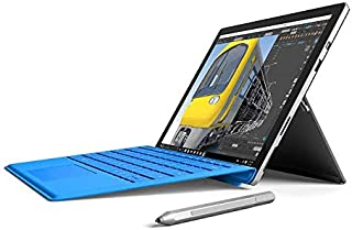 "Microsoft Surface Pro 4 Laptop Tablet i5 8Gb Ram 256Gb SSD 12.3"" + Keyboard Windows 10 Pro (Renewed)"