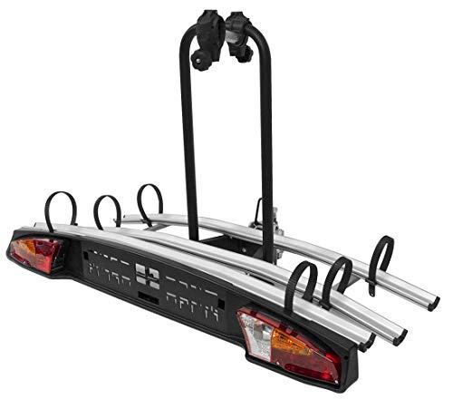 VDP Auto Fahrradträger Merak Tilting 3 – universal Heckträger für 3 Fahrräder oder 3 eBikes