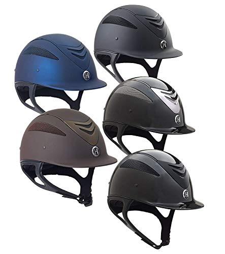 One K Unisex Defender Protective Riding Helmet, Black Glossy, Large