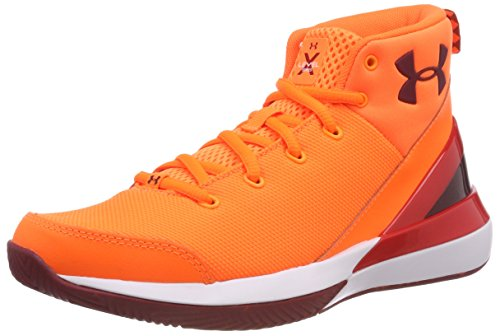 Under Armour Jungen UA BGS X Level Ninja Basketballschuhe, Blaze Orange 800, 36.5 EU