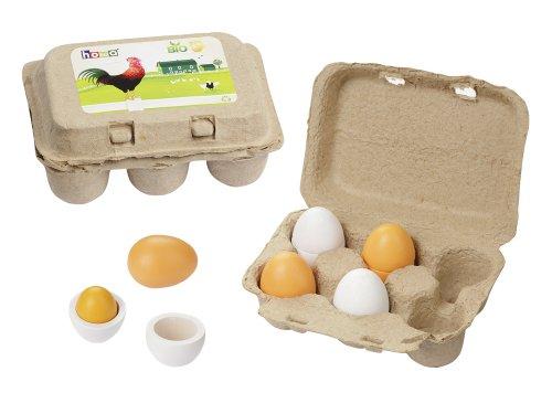 Howa Eierset aus Holz 4864
