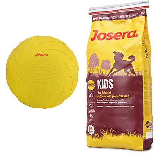 Josera 15 kg Kids + Hundespielzeug Frisbee
