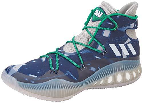 adidas Herren Crazy Explosive Wiggins PE AW BB8345 Pferdeschuhe, Grau/Weiß/Blau, Size UK 13.5