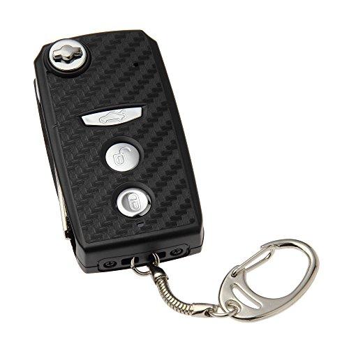 『匠ブランド(TAR6U)キーレス型ビデオカメラ Shooter (シューター) フルHD 動体検知 ブラック NCK03540213-A0』の1枚目の画像