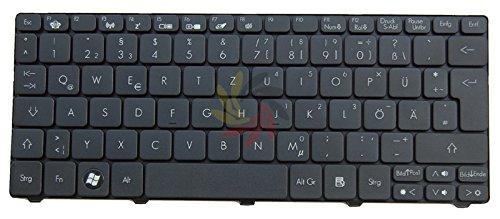 QWERTZ Tastatur Acer Aspire One 521 522 532 532H 533 D255 D255E D257 D260 D270 LT2 DE NEU Achtung: Neu Acer Model, mit leichter Abweichung von der Funktionstasten.