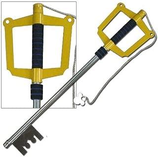 Fantasy Metal Giant Key Style Sword Yellow Key to the City